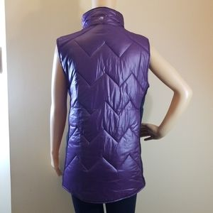 Ideology Jackets & Coats - NWOT Ideology Purple Puffer Vest. Size Med.